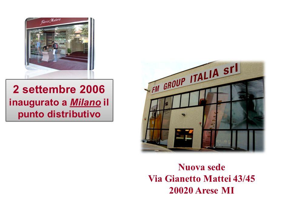 inaugurato a Milano il punto distributivo