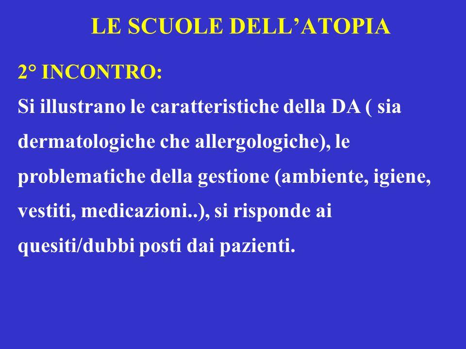 LE SCUOLE DELL'ATOPIA 2° INCONTRO: