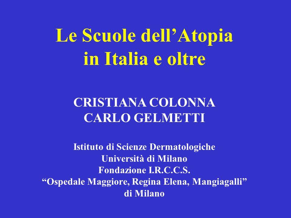 Le Scuole dell'Atopia in Italia e oltre