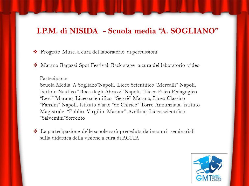 I.P.M. di NISIDA - Scuola media A. SOGLIANO