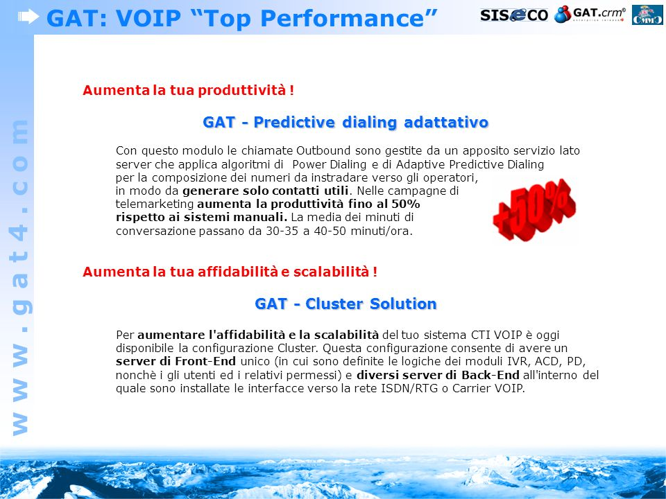 GAT: VOIP Top Performance