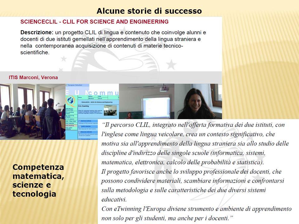 Alcune storie di successo
