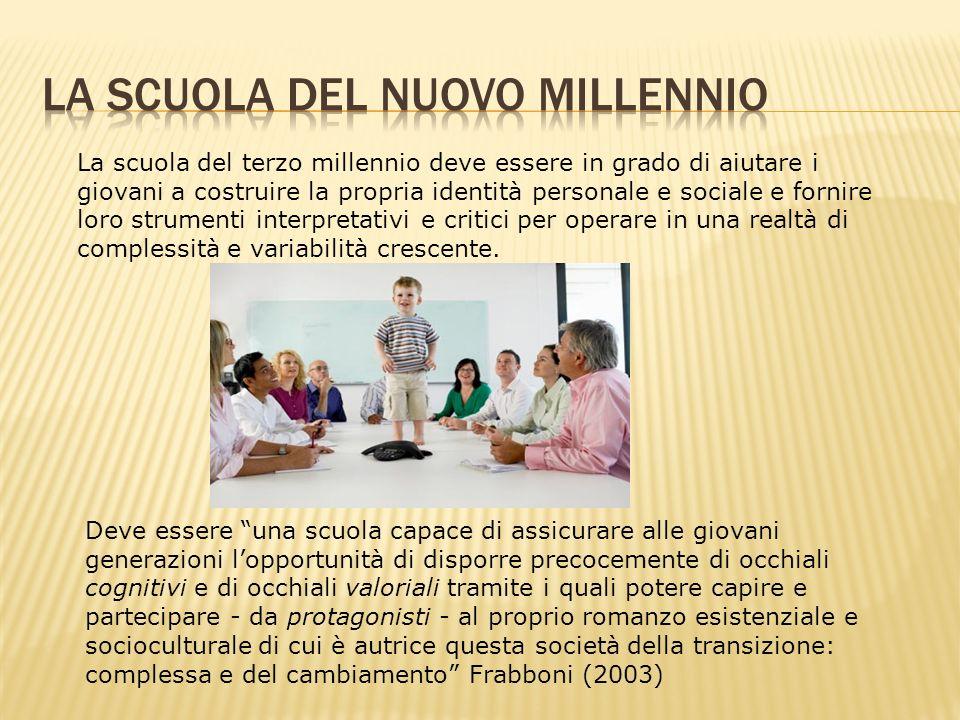 La scuola del nuovo millennio