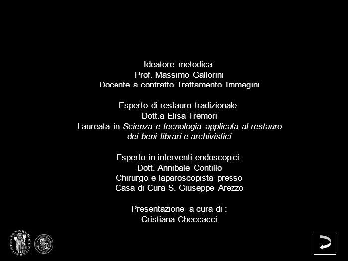 Prof. Massimo Gallorini Docente a contratto Trattamento Immagini