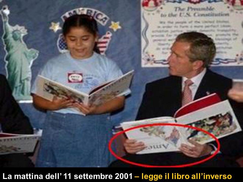 La mattina dell' 11 settembre 2001 – legge il libro all'inverso