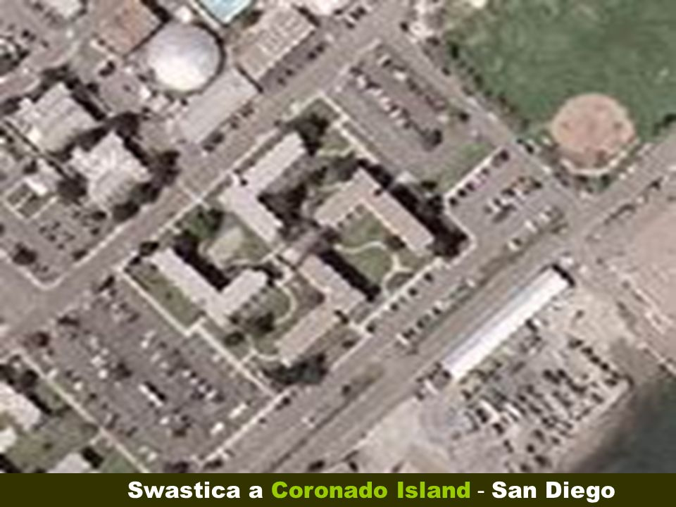 Swastica a Coronado Island - San Diego