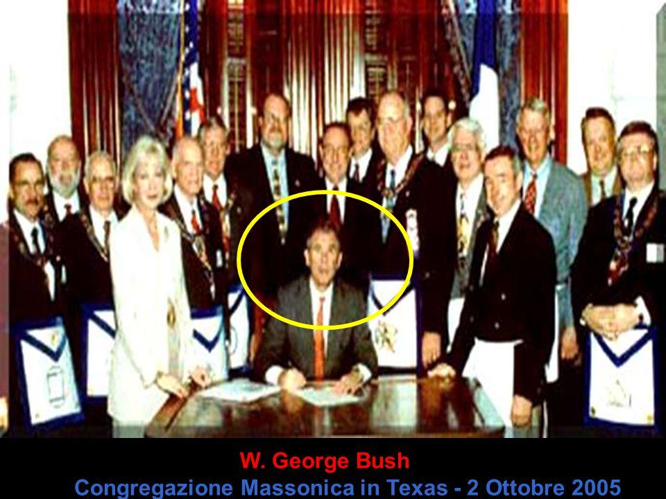 W. George Bush Congregazione Massonica in Texas - 2 Ottobre 2005