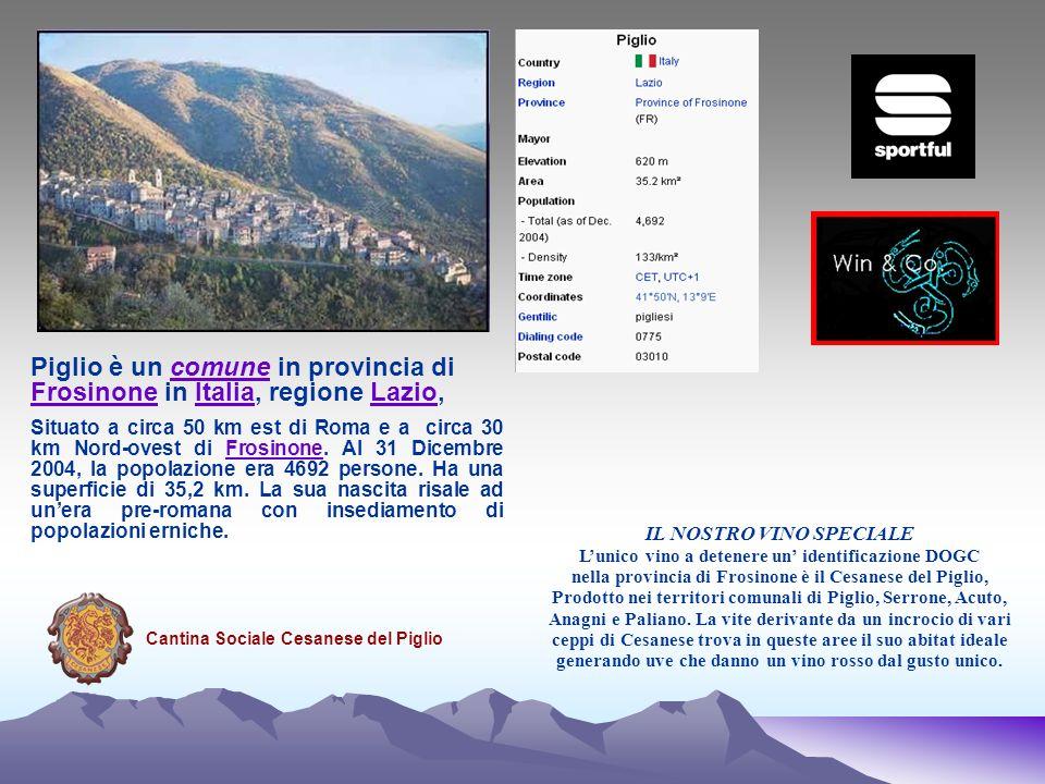 Piglio è un comune in provincia di Frosinone in Italia, regione Lazio,