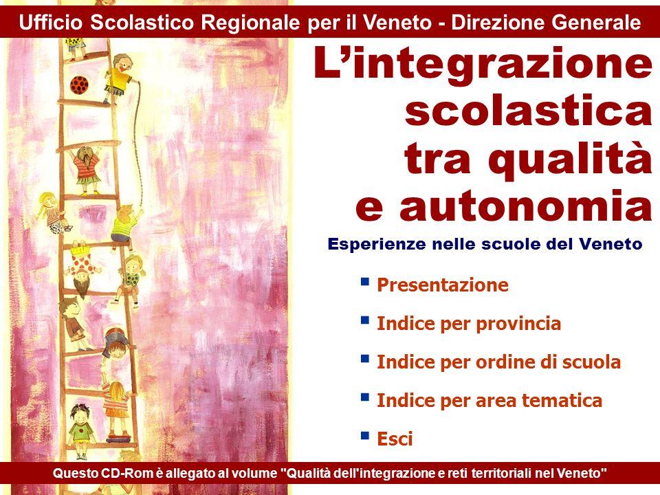 Ufficio Scolastico Regionale per il Veneto - Direzione Generale
