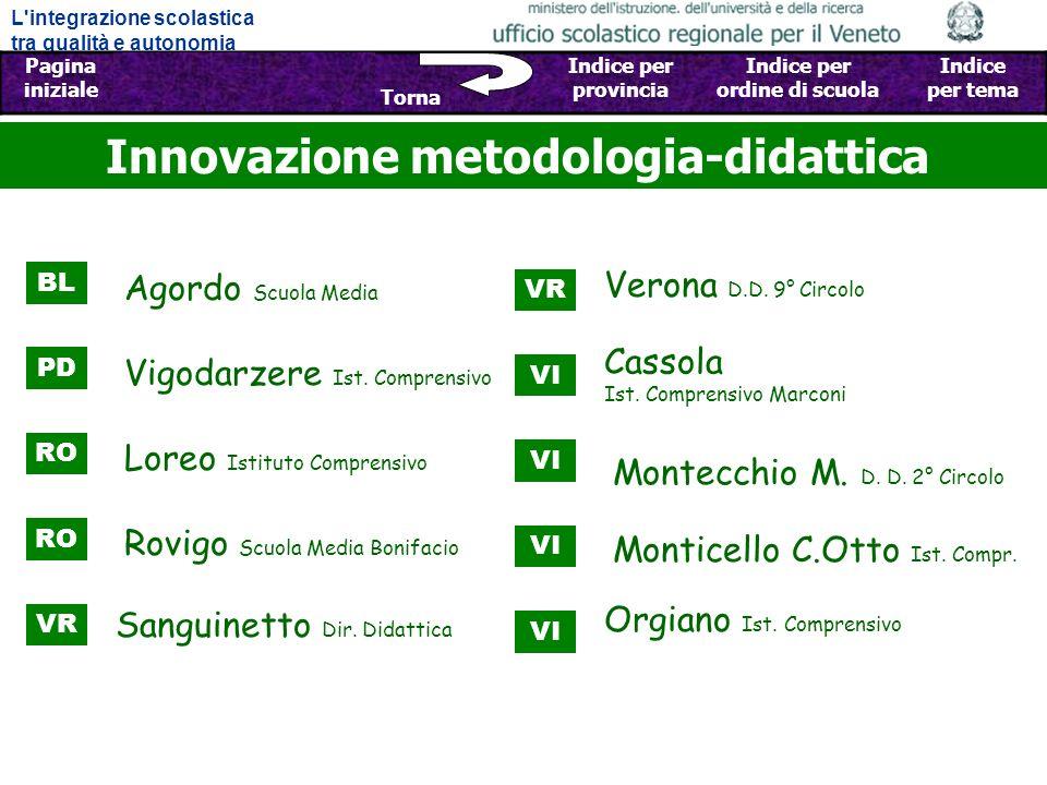 Innovazione metodologia-didattica