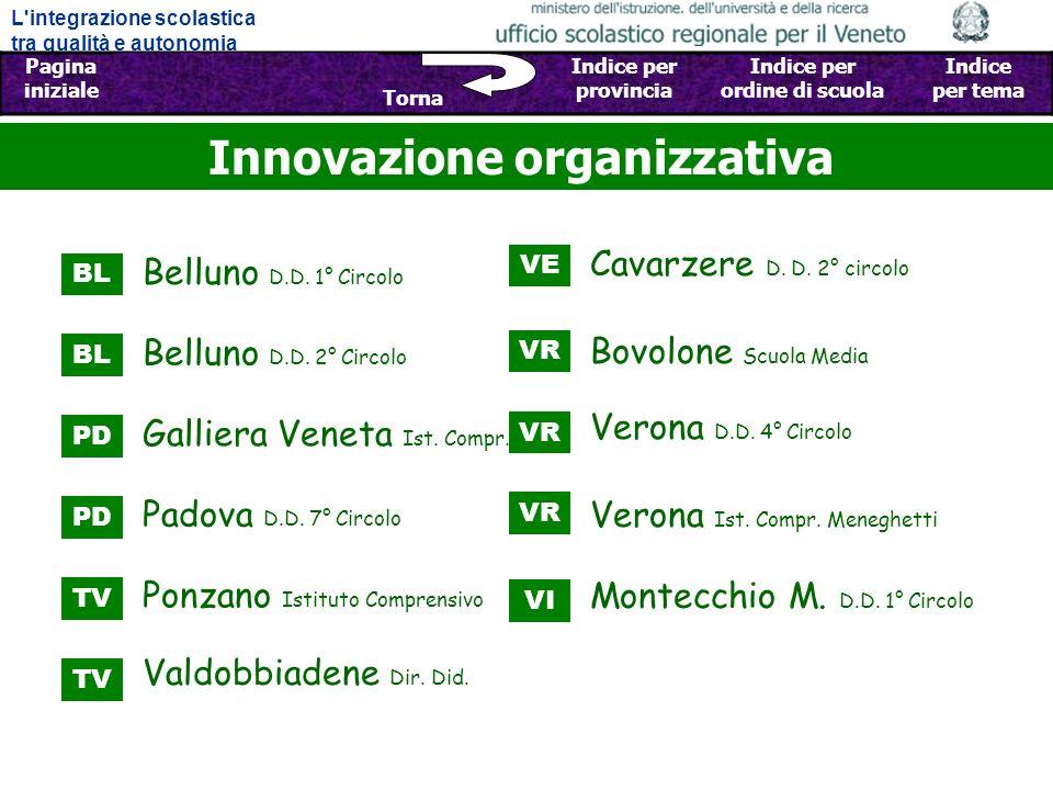 Innovazione organizzativa