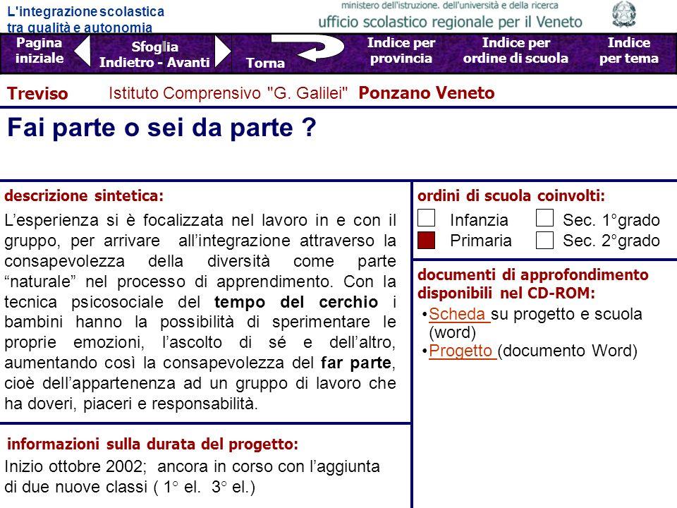 Fai parte o sei da parte Treviso