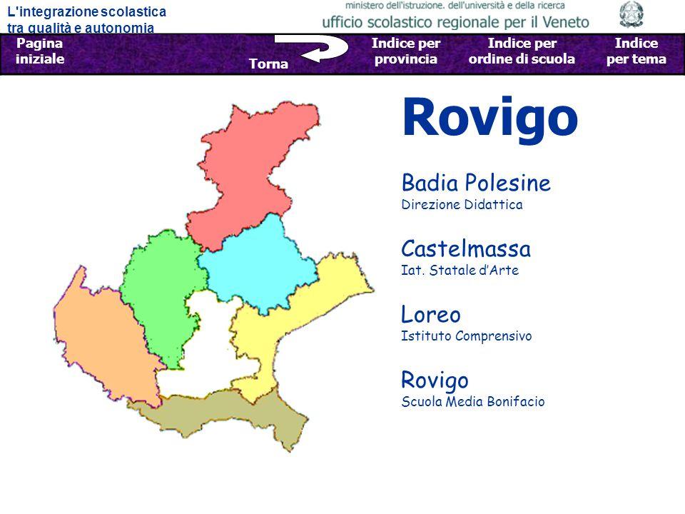 Rovigo Badia Polesine Direzione Didattica