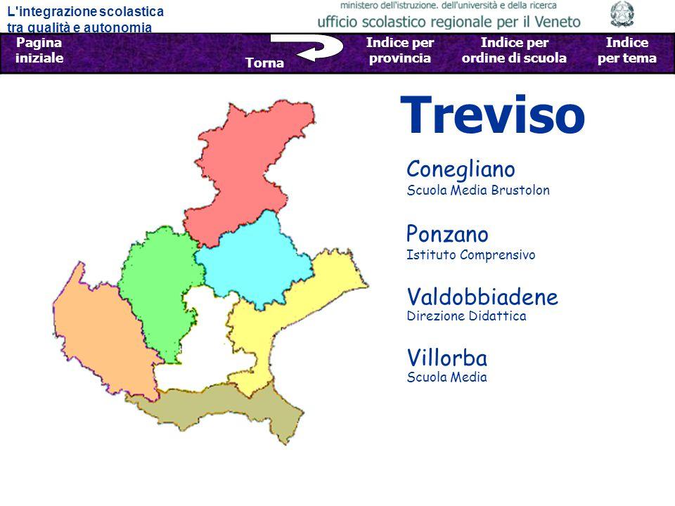 Treviso Conegliano Scuola Media Brustolon Ponzano Istituto Comprensivo