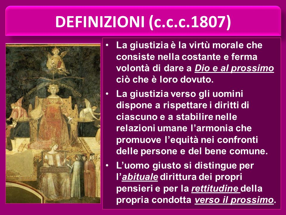 DEFINIZIONI (c.c.c.1807)