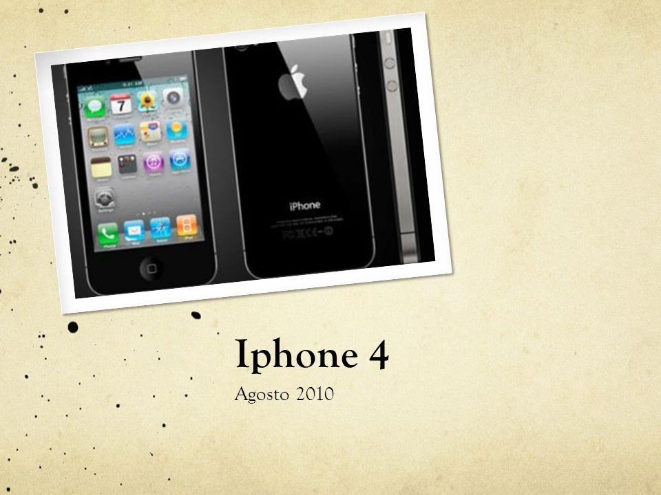 Iphone 4 Agosto 2010