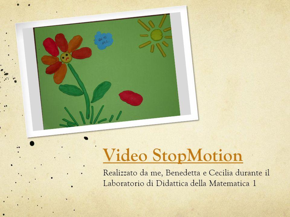 Video StopMotion Realizzato da me, Benedetta e Cecilia durante il Laboratorio di Didattica della Matematica 1.