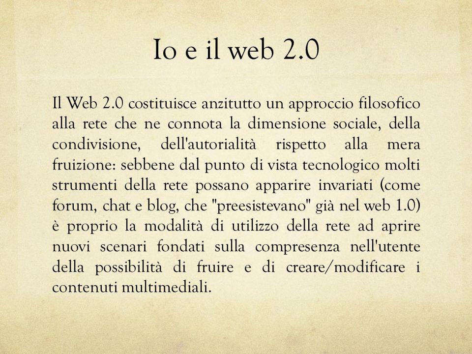 Io e il web 2.0