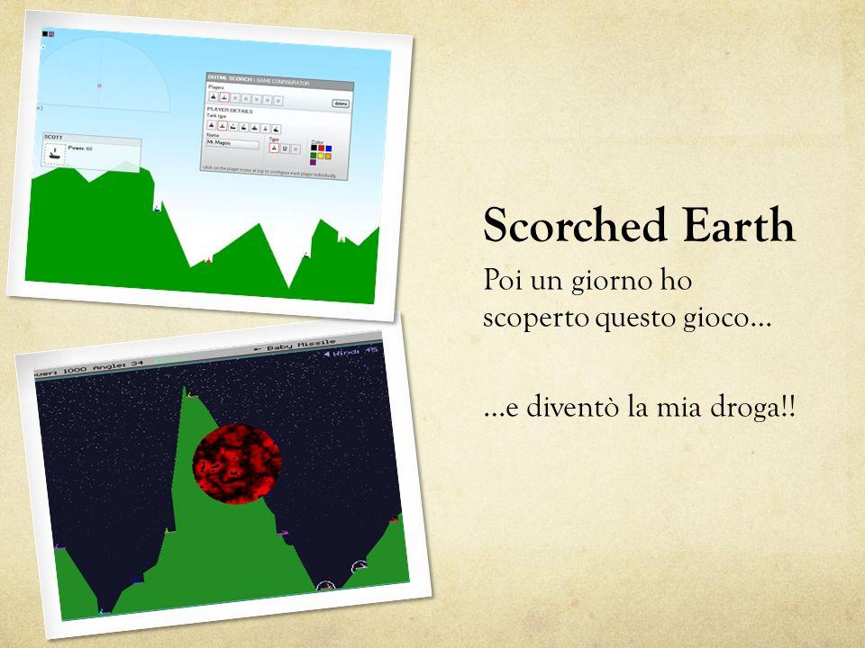 Scorched Earth Poi un giorno ho scoperto questo gioco…