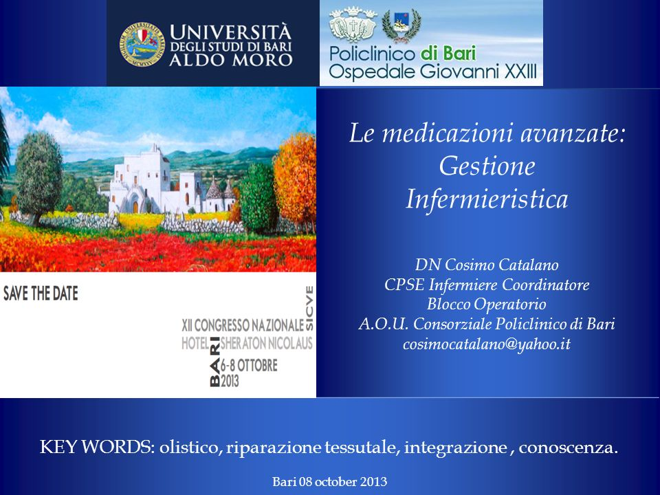 Le medicazioni avanzate: Gestione Infermieristica