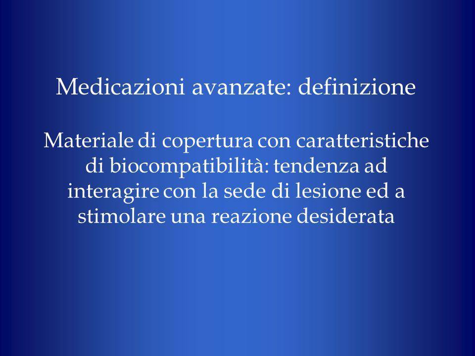 Medicazioni avanzate: definizione