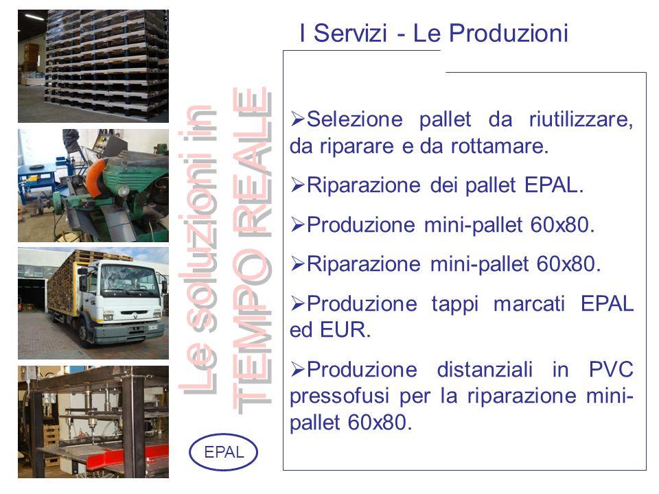 I Servizi - Le Produzioni