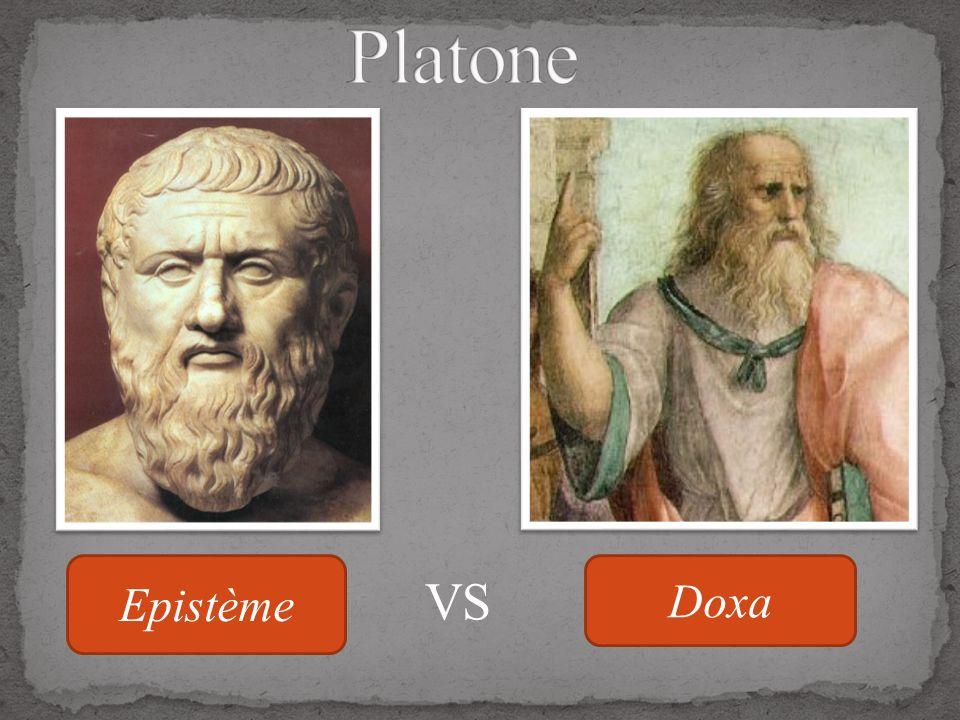 Platone Epistème Doxa VS