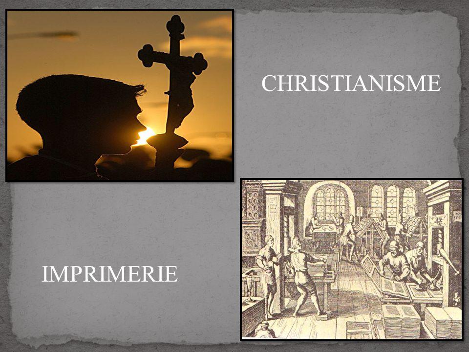 CHRISTIANISME IMPRIMERIE