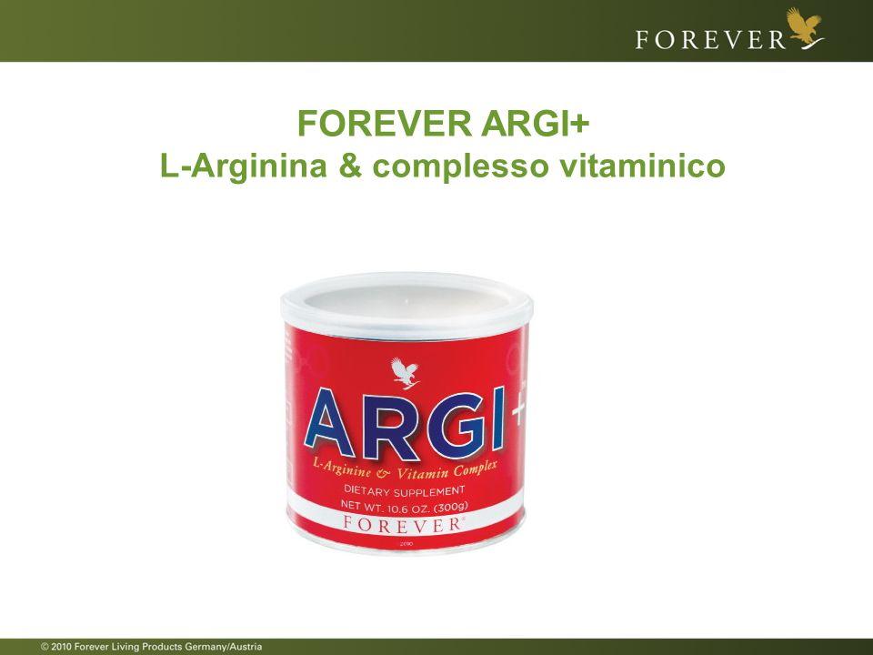 L-Arginina & complesso vitaminico