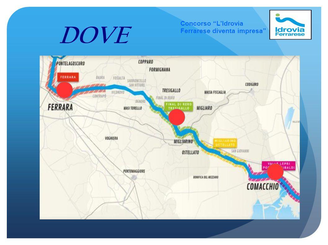 Concorso L Idrovia Ferrarese diventa impresa DOVE 3 3