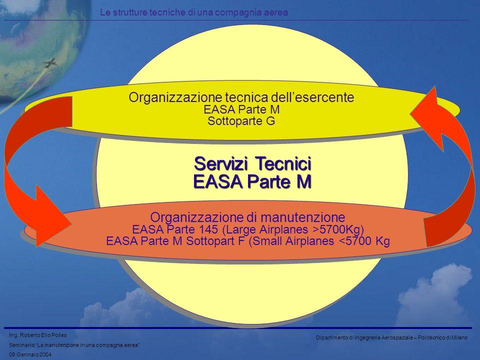 Servizi Tecnici EASA Parte M