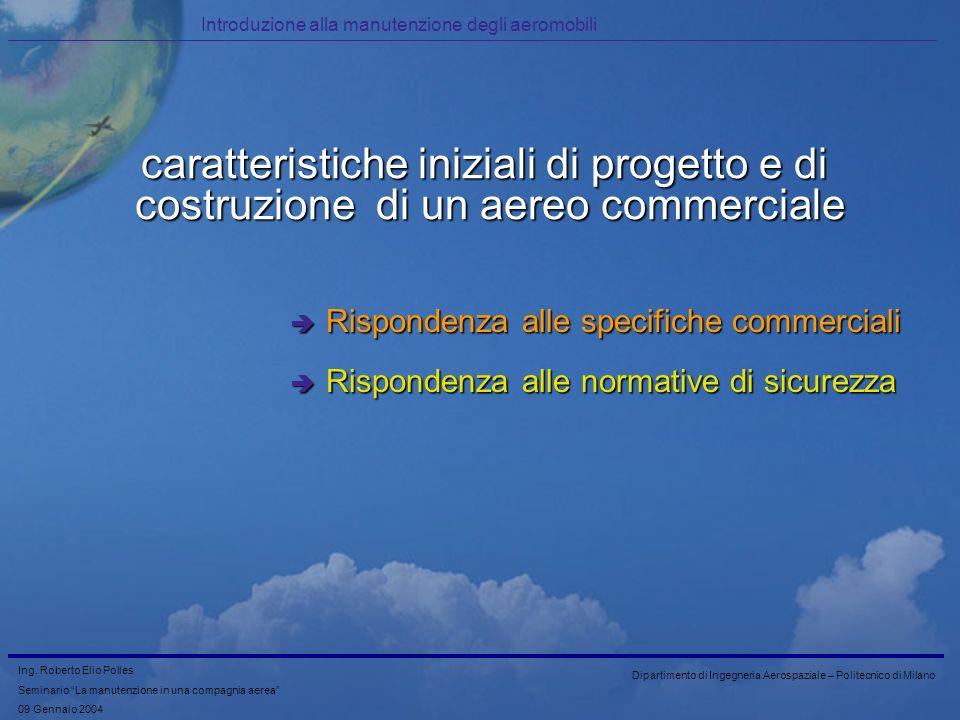 Introduzione alla manutenzione degli aeromobili