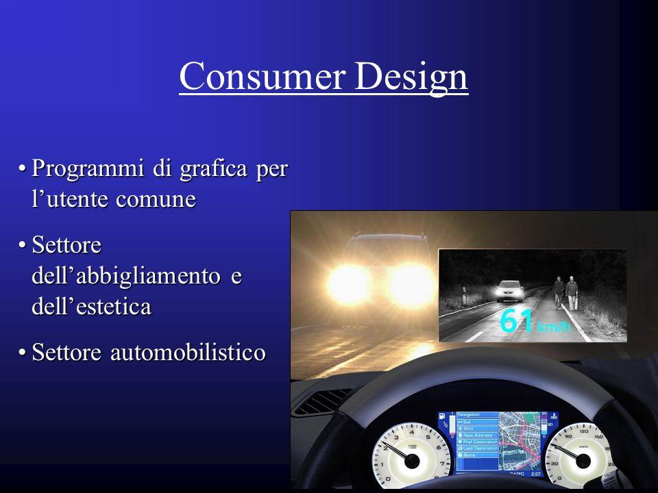 Consumer Design Programmi di grafica per l'utente comune