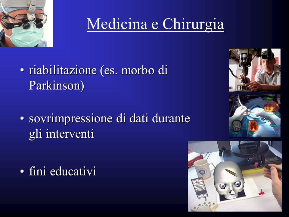 Medicina e Chirurgia riabilitazione (es. morbo di Parkinson)