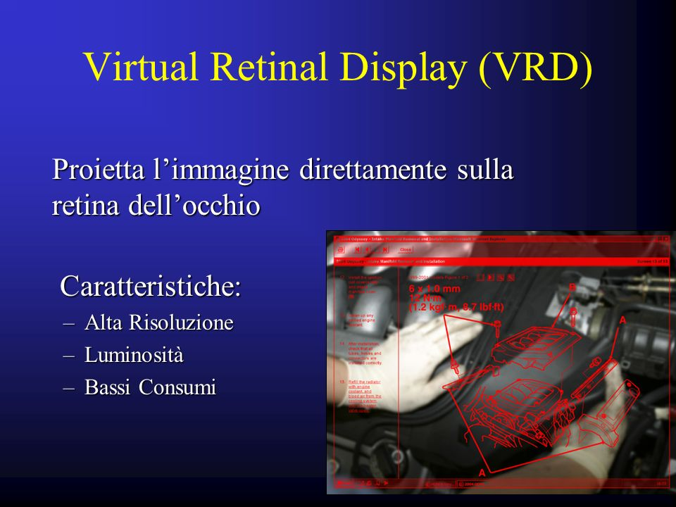 Virtual Retinal Display (VRD)