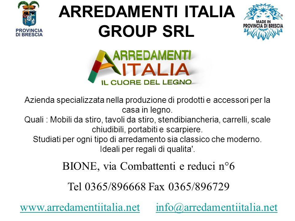 ARREDAMENTI ITALIA GROUP SRL