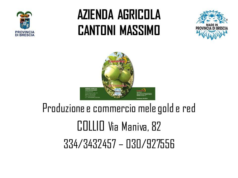 AZIENDA AGRICOLA CANTONI MASSIMO