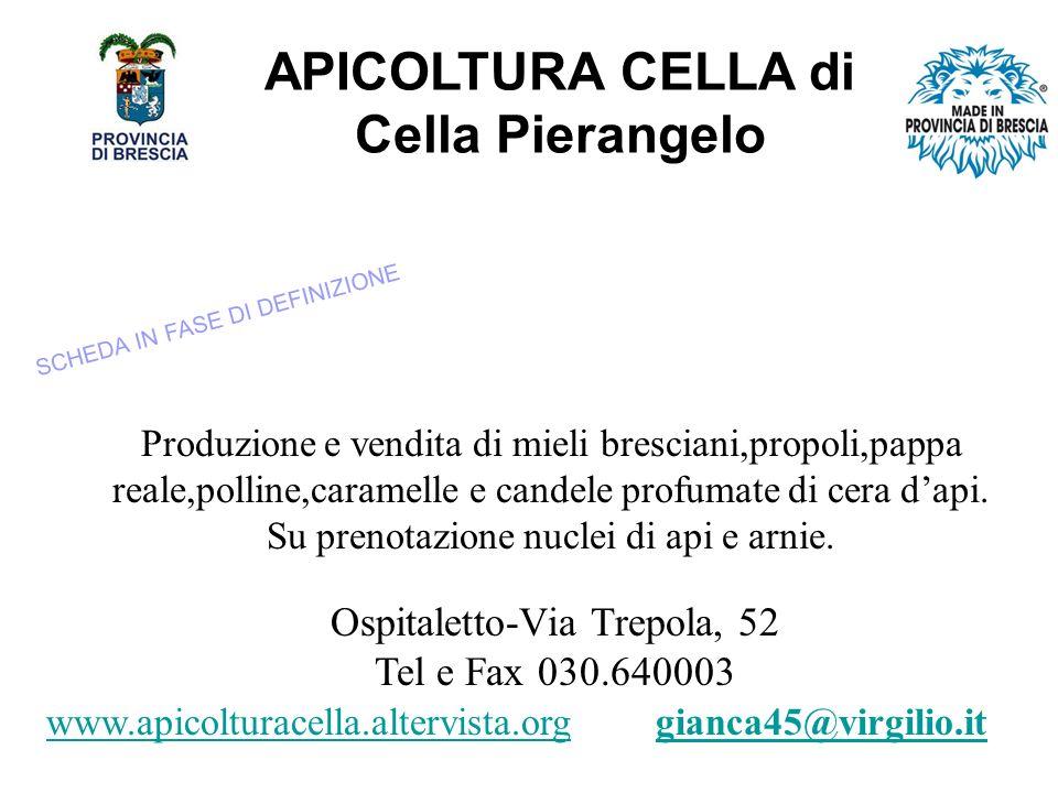APICOLTURA CELLA di Cella Pierangelo