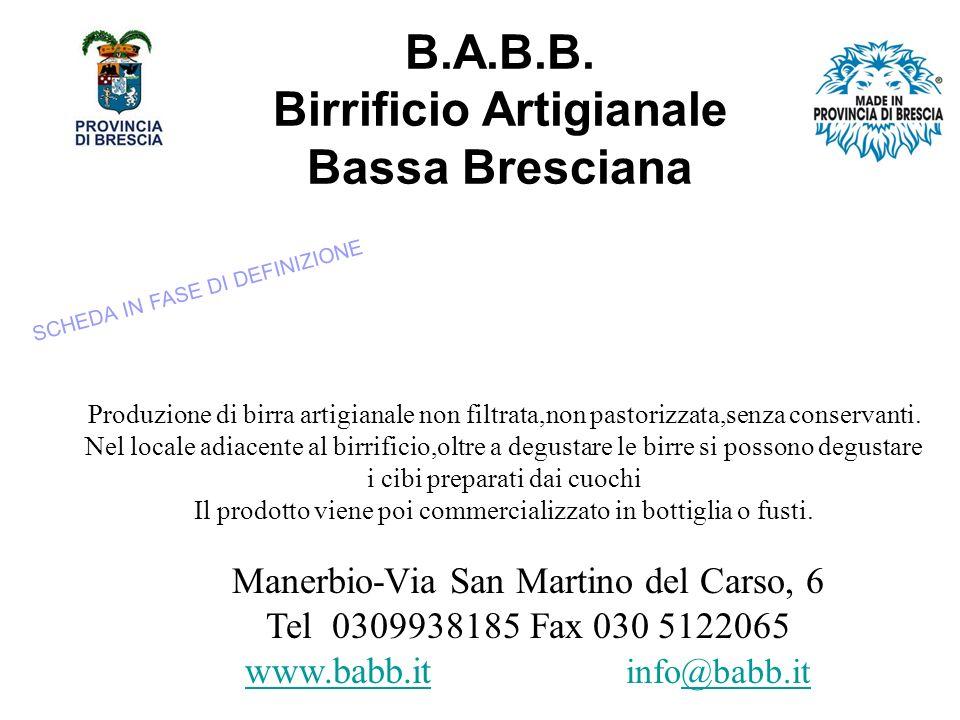 B.A.B.B. Birrificio Artigianale Bassa Bresciana
