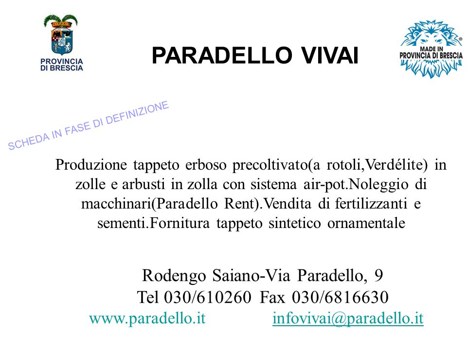 Rodengo Saiano-Via Paradello, 9