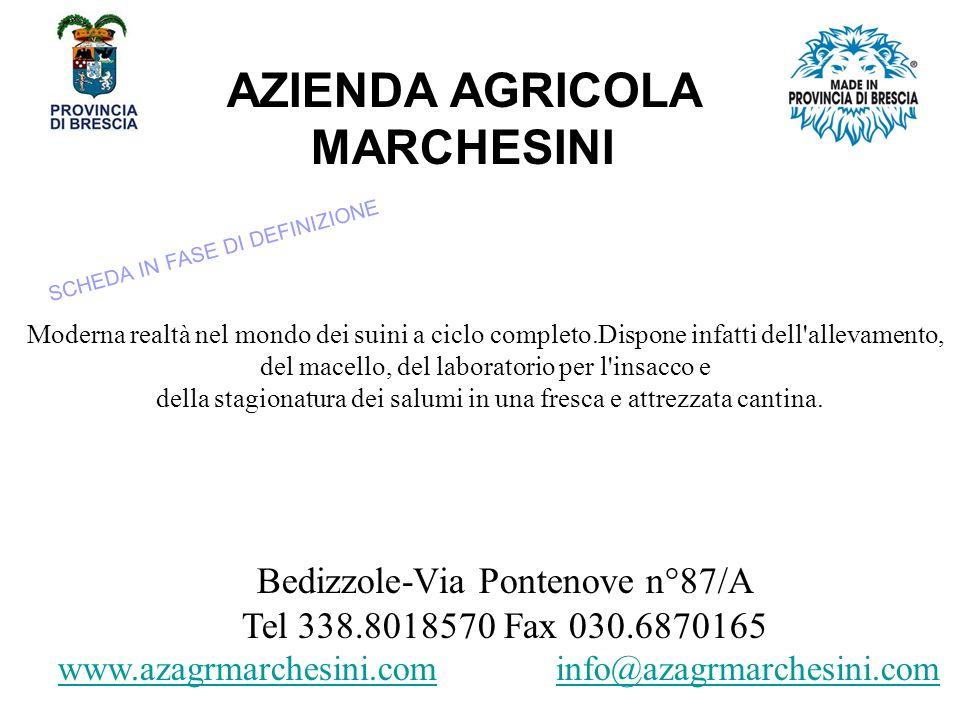 AZIENDA AGRICOLA MARCHESINI