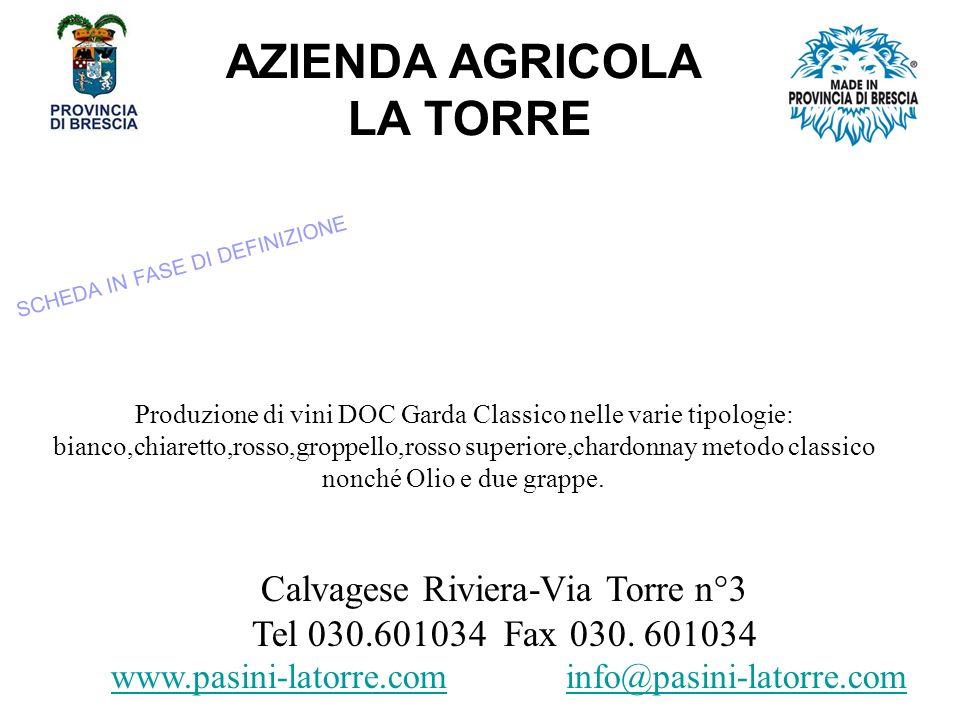 AZIENDA AGRICOLA LA TORRE