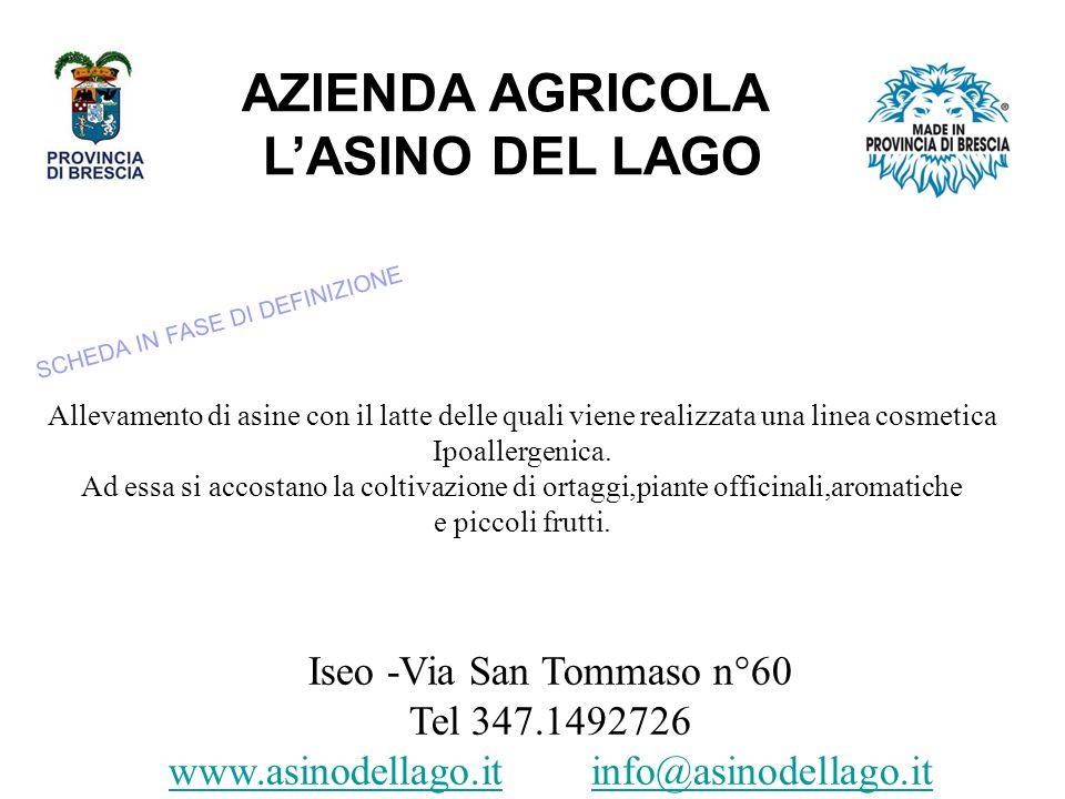 AZIENDA AGRICOLA L'ASINO DEL LAGO