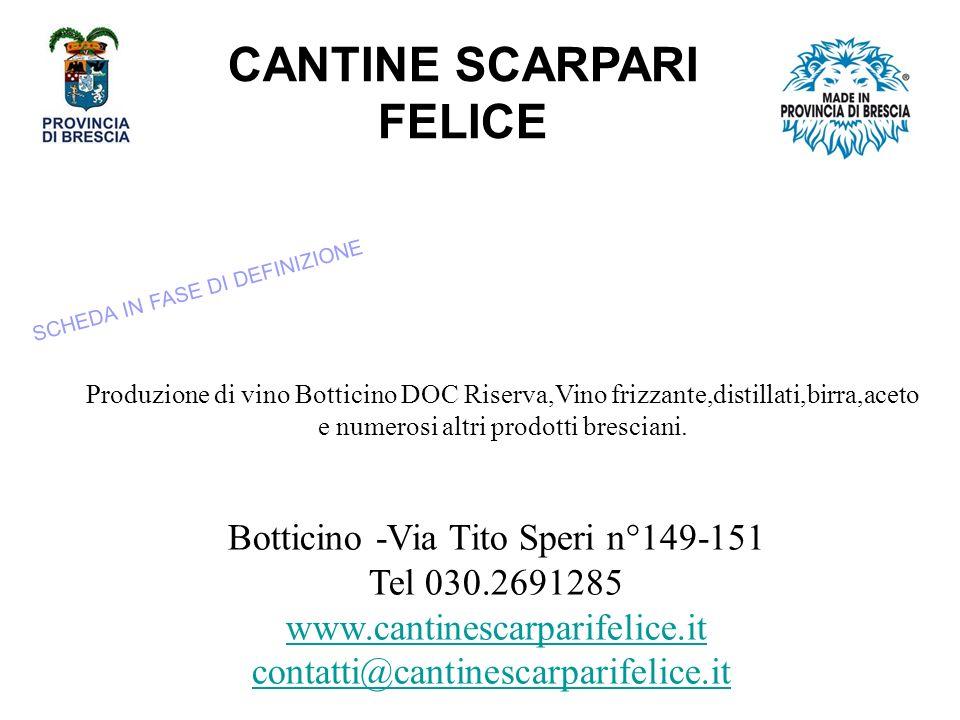 CANTINE SCARPARI FELICE