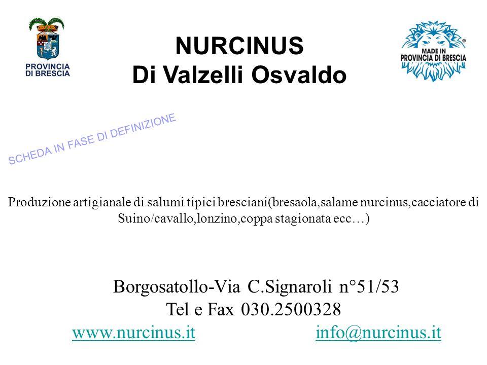 NURCINUS Di Valzelli Osvaldo