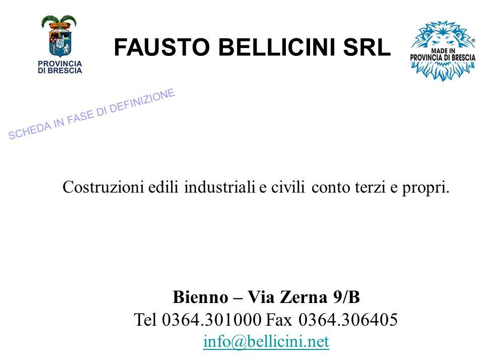 Costruzioni edili industriali e civili conto terzi e propri.