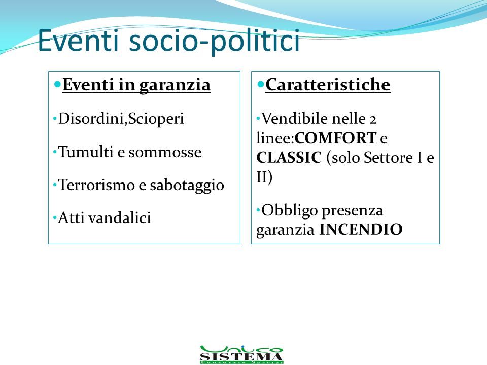 Eventi socio-politici