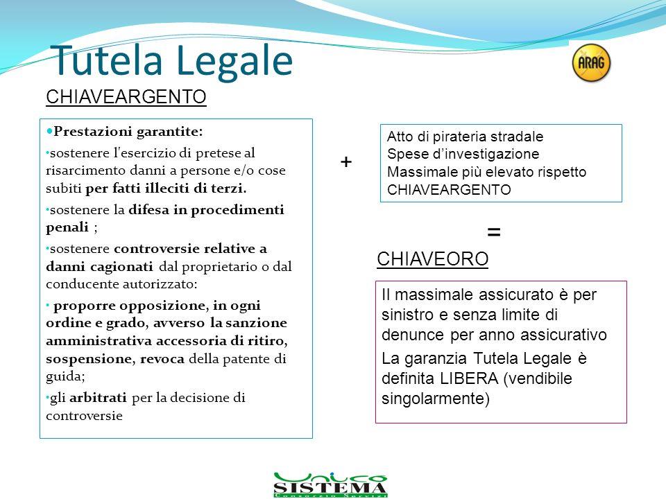 Tutela Legale = + CHIAVEARGENTO CHIAVEORO