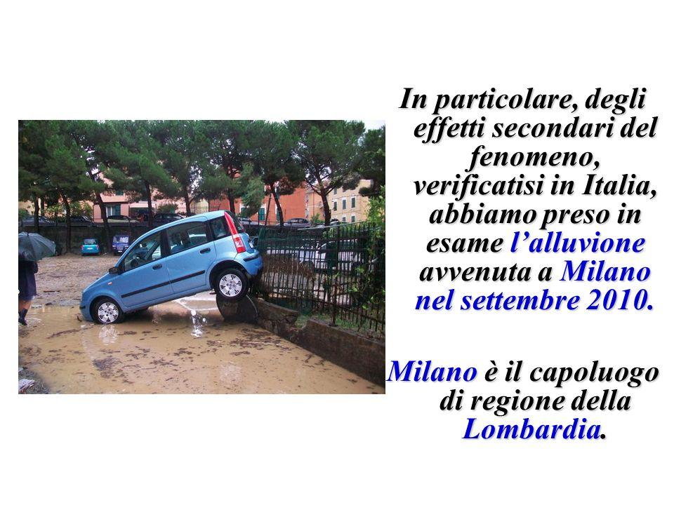 Milano è il capoluogo di regione della Lombardia.