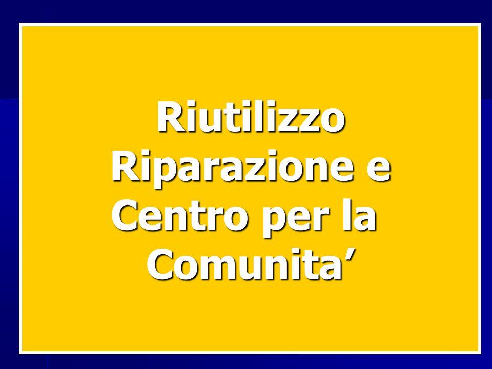 Riutilizzo Riparazione e Centro per la Comunita'